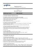 Bezpečnostní list AMISTAR OPTI - Page 7