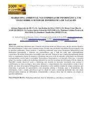 reflexões sobre ética, estado brasileiro e educação - Connepi2009 ...