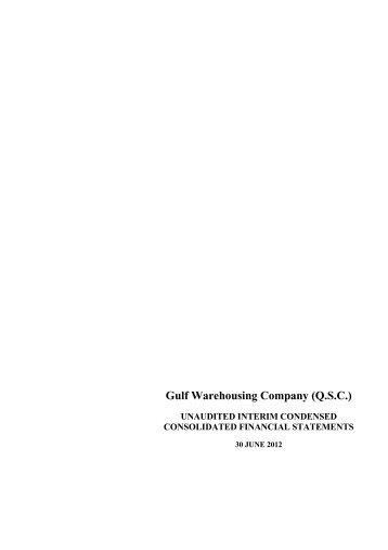 Gulf Warehousing Company (QSC)