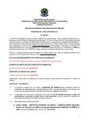 pregão eletrônico sistema de registro de preços nº 02/2013