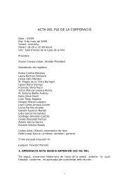 03. 2009-0309-PLE.pdf - Ajuntament de Lloret de Mar