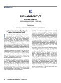 SAAarchaeologicalrecord - Society for American Archaeology - Page 6