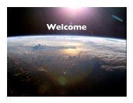 Opening remarks/Agenda/Logistics/Updates - cmmap