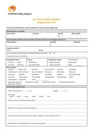 CPL registration form