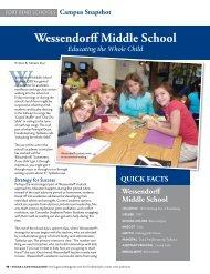 W Wessendorff Middle School - Sugar Land Magazine