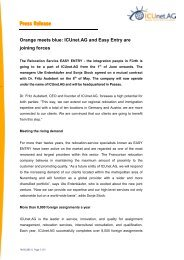 ICUnet.AG and Easy Entry are joining forces - EuRA
