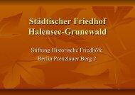Städtischer Friedhof Halensee-Grunewald - friedhofsmuseum´s Blog