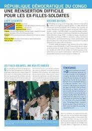 Fiche République démocratique du Congo - AMNESTY ...