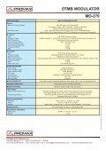 DTMB modulator - MO-270 - Promax - Page 2