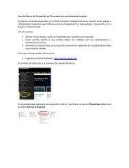 Uso de Centro de Contenido de Proveedores para Autodesk ...