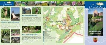 Natur – Wanderwege – Wald - Ortsgemeinde Freudenburg