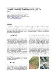 Snow Extent Discrimation In Alpine Areas From Polarimetric ... - IETR