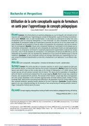 PDF (173.7 KB) - Pédagogie médicale
