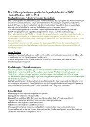 Bestimmungen für den Jugendfußball - Kreis 4 Beckum