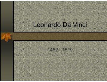 Presentación Leonardo Da Vinci