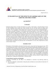 fundamentals of the effects of earthquakes on the ground and ...