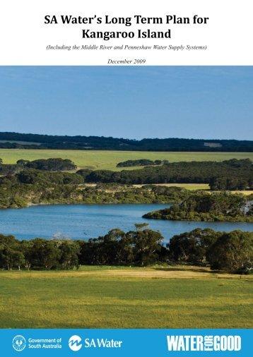 Long Term Plan for Kangaroo Island - SA Water