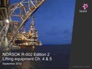 NORSOK R-002 Rev. 2