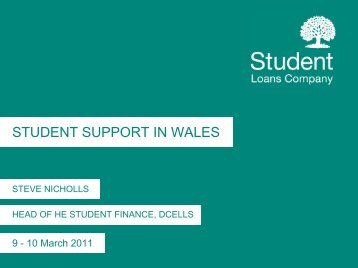 Student Support in Wales - HEI Services