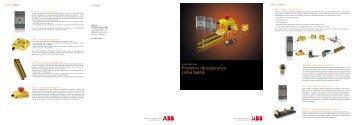 Produtos de segurança Linha Safety - APE Distribuidor ABB