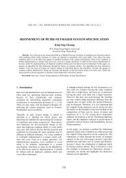 refinement of petri-net-based system specification - Information ...