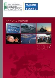 Annual Report 2007 - European Science Foundation
