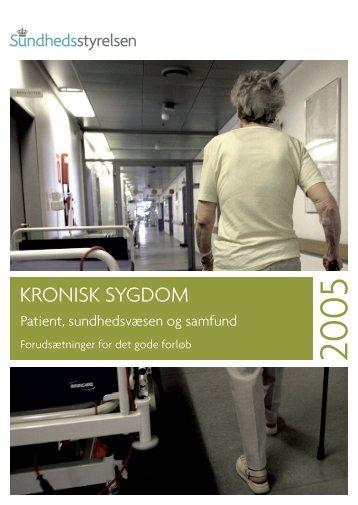 KRONISK SYGDOM - Sundhedsstyrelsen