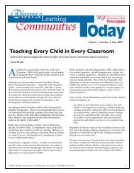 Teaching Every Child in Every Classroom - National Association of ...