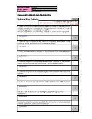 Evaluation's form - KFH