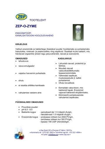 ZEP-O-ZYME