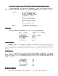 01-10-12 City Council Meeting Minutes - the City of Hopewell Virginia