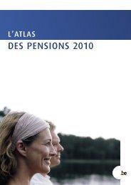 L'atlas belge des pensions 2010