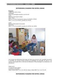 programação de Janeiro de 2009 - Câmara Municipal de Oeiras