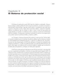 Capítulo 3 El Sistema de protección social - Programa de las ...