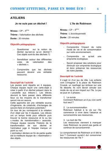Ateliers - Cap Sciences