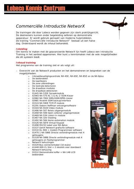 Intro NX2 - Lobeco