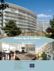 Shutters Spa & Residences - VREB.bc.ca