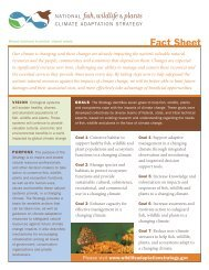 Fact Sheet - U.S. Fish and Wildlife Service