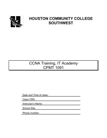 CCNA Training, IT Academy CPMT 1091