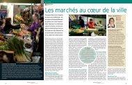 Les marchés au cœur de la ville - Boulogne - Billancourt