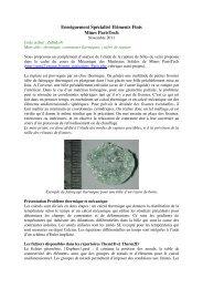 Enseignement Spécialisé Eléments Finis Mines ParisTech