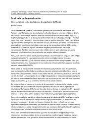Liebel, Manfred (2003): En el valle de la globalización: Niños ...
