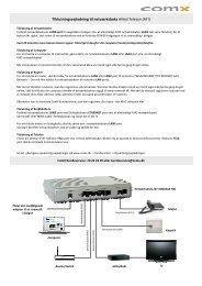 Visio-Tilslutningsvejledning AT-iMG634A-R2 07-2013.vsd - ComX