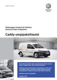 Caddy-umpipakettiautot - Volkswagen