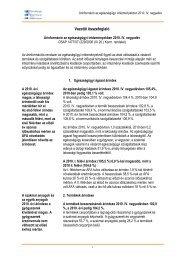Vezetői összefoglaló - ESKI
