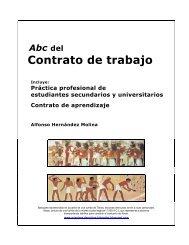 manual del contrato de trabajo. práctica - Luis Emilio Recabarren