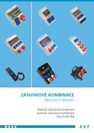 ZÁSUVKOVÉ KOMBINACE - Elektro-System-Technik sro