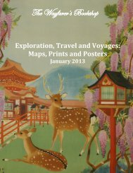 January 2013 Exploration, Travel and Voyages - The Wayfarer's ...