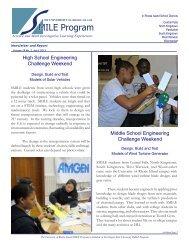 SMILE Newsletter April 2013 - University of Rhode Island