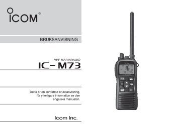 iC- m73 - VHF Group AS